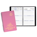 Custom SWB-24 Academic Weekly Planners, Twilight Academic Weekly Desk, 5 1/2 x 8 1/2 inch, Wire-Bound