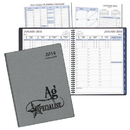 Custom TM-35 Time-Master Large Planner, Frosted Vinyl Covers, 8 1/2 x 11 inch