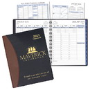 Custom TM-37 Time-Master Large Planner, Carriage Vinyl Covers, 8 1/2 x 11 inch
