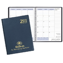 Custom TYP-33 Two Year Desk Planners, Continental Vinyl Covers, 8 1/2 x 11 inch