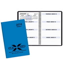 Custom WBL-23 Weekly Planners, Continental Vinyl Covers, 5 1/2 x 8 1/2 inch, Wire-Bound