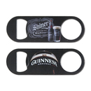 STOPNGO Line Custom Short Paddle Style 4 Color Process VERSAprint Bottle Opener, 4 3/4