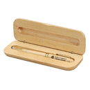 STOPNGO Line Maplewood Case with Pen Gift Set, 6 3/4