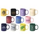 STOPNGO Line Custom 11 oz. Standard Ceramic Mug, 3 3/4