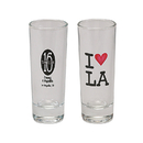 STOPNGO Line Custom Clear 2 oz. Double Shot Glass, 4