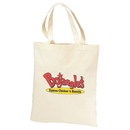 STOPNGO Line Custom 6 oz. Cotton Natural Canvas Tote Bag, 14