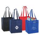 STOPNGO Line Non-Woven Polypropylene Zippered Tote Bag, 13