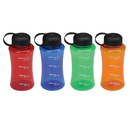 STOPNGO Line Custom 28 oz. Slimming Polycarbonate Water Bottle, 7 1/2