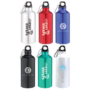 STOPNGO Line Custom 20 oz. Aluminum Water Bottle with Carabiner, 8