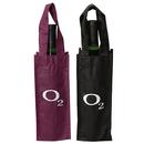 STOPNGO Line Custom Polypropylene Single Wine Bottle Tote Bag, 4