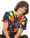 Tie-Dyed 200TD Short Sleeve Rainbow Cut-Spiral T-Shirt