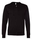 Independent Trading SS150JZ Lightweight Jersey Hooded Full-Zip