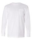 Bayside 8100 Usa-Made Long Sleeve T-Shirt with A Pocket