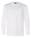 Bayside 3055 Union-Made Long Sleeve T-Shirt with A Pocket