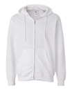 Independent Trading SS4500Z Midweight Full-Zip Hooded Sweatshirt