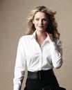 Calvin Klein  Ladies' Cotton Stretch Shirt