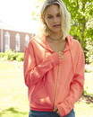 Comfort Colors 1598 Ladies' Pigment-Dyed Full-Zip Hooded Sweatshirt