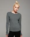 Bella+Canvas 5001 Ladies' Baby Rib Long Sleeve T-Shirt