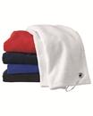 Carmel Towel 1518GH Velour Hemmed Towel with Corner Grommet & Hook