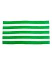Carmel Towel 3060S Cabana Stripe Velour Beach Towel