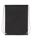 Liberty Bags 8887 Nylon Drawstring Backpack with White Drawcords