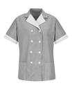 Red Kap 9S03 Ladies' Double-Breasted Lapel Tunic