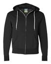 Independent Trading AFX90UNZ Unisex Full-Zip Hooded Sweatshirt