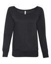 Bella+Canvas 7501 Ladies' Triblend Wideneck Sweatshirt