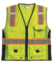 Ml Kishigo 1513 Black Series Heavy Duty Vest