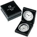 Bearing Piano Wood Clock/Compass