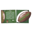 Schedule With Football Punch Out Car Sign