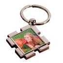 Square Full Color Key Ring