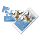 Jumbo Puzzle Business Card Magnet