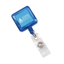 Deluxe Square Retractable Badge Holder