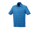 16506 (M) Custom Shima Short Sleeve Polo With A 3-Button Placket