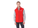 18501 (M) Custom Tyndall Polyfleece Vest with Contrast Binding