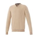 18608 (M) Blank Osborn V-Neck Sweater With Sleeve Cuffs