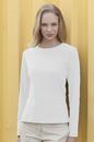 Vantage 0284 Women's Long Sleeve Scoop Neck T-Shirt - Imprinted