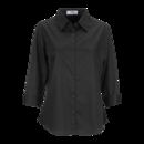 Vantage 1241 Women's Easy-Care Solid Textured Shirt - Imprinted