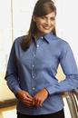 Vantage 1806 Women's Stretch Poplin Shirt - Imprinted