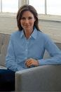 3% Spandex Stretch Poplin Women's Stretch Poplin Shirt