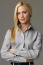 Women's Executive No-Iron Royal Oxford - Imprinted
