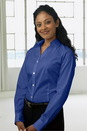 Vantage 1941 Women's Y-Placket Stretch Poplin Shirt