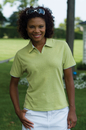 Women's Velocity Piped Placket Polo - Imprinted