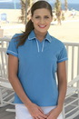 6 oz. Women's Edge-Piped Stretch Polo