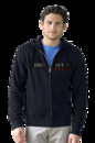 Premium Lightweight Fleece Full-Zip Hoodie