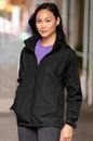 Vantage 7071 Women's Full-Zip Lightweight Hooded Jacket - Imprinted