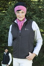 Women's Reversible Quilted Vest - Imprinted