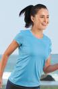 Alo Women's Short Sleeve Mesh Back Tee - Imprinted