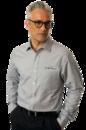 Van Heusen VANH0235 Easy-Care Classic Pincord Shirt